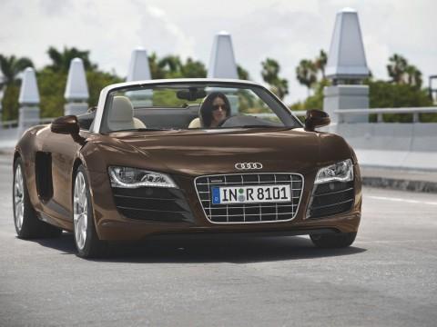 Caractéristiques techniques de Audi R8 Cabriolet