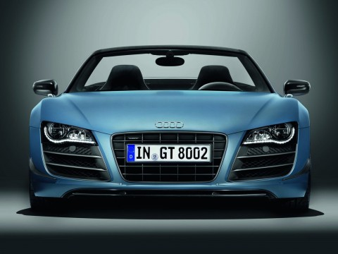 Technical specifications and characteristics for【Audi R8 GT Spyder】