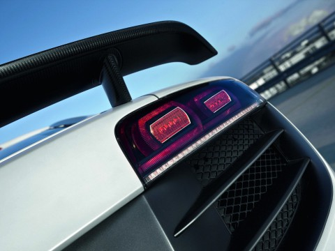 Technical specifications and characteristics for【Audi R8 GT】