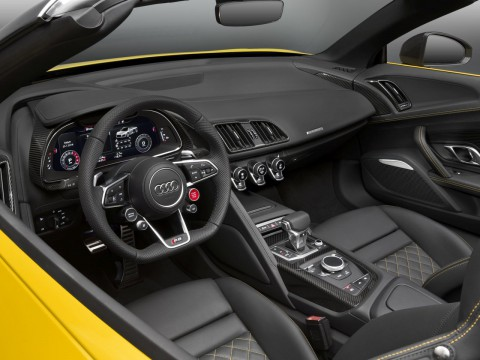 Technical specifications and characteristics for【Audi R8 II Roadster】