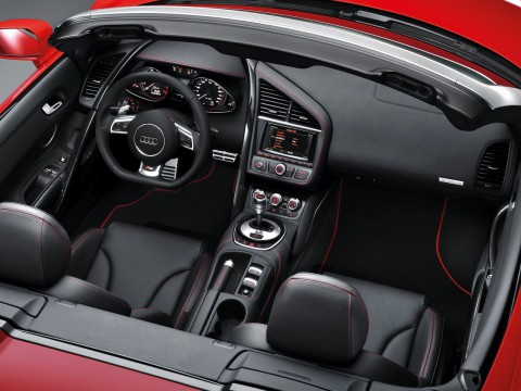 Technical specifications and characteristics for【Audi R8 Roadster Restyling】