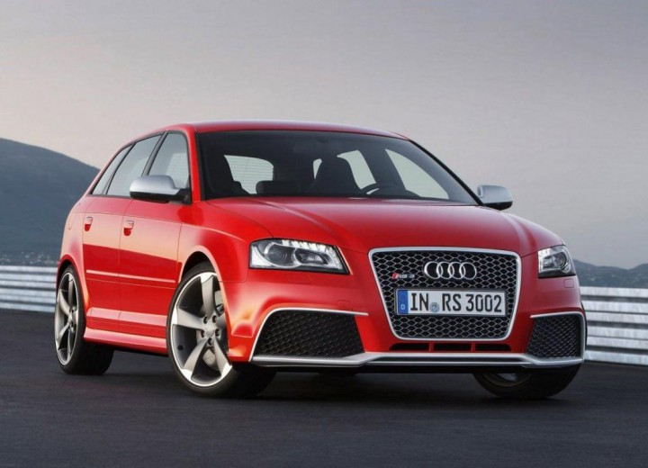 Audi RS3 RS3 Sportback (8P) • 2.5 (340hp) AT 4WD technical ...