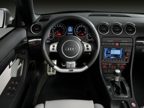 Technical specifications and characteristics for【Audi RS4 Cabrio (8E)】