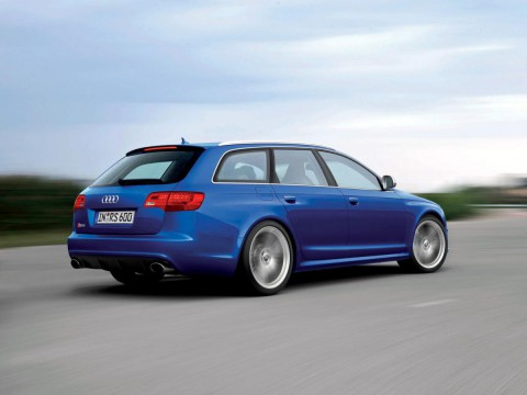 Technical specifications and characteristics for【Audi RS6 Avant (4F,C6)】
