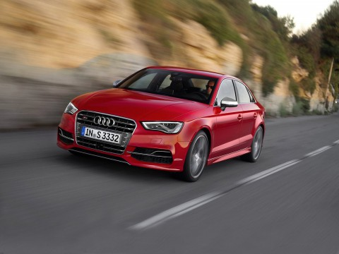 Technical specifications and characteristics for【Audi S3 III (8V) Sedan】