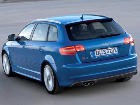 Especificaciones técnicas de Audi S3 Sportback (8P)