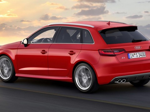 Technical specifications and characteristics for【Audi S3 Sportback (8V)】