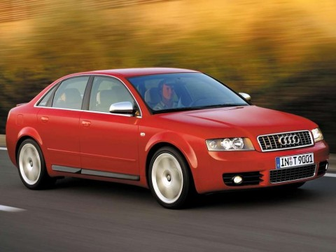 Technical specifications and characteristics for【Audi S4 (8E)】