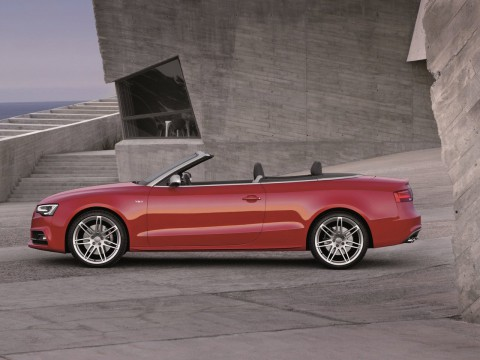 Technical specifications and characteristics for【Audi S5 Cabriolet Restyling 】