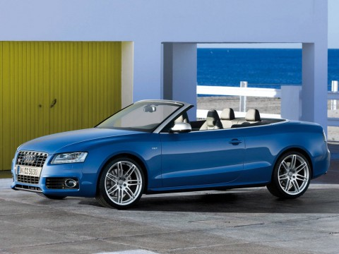 Technical specifications and characteristics for【Audi S5 Cabriolet】