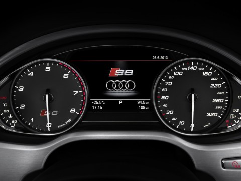 Technical specifications and characteristics for【Audi S8 III (D4) Resyling】