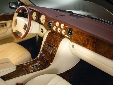 Technical specifications and characteristics for【Bentley Arnage T】