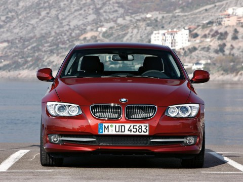 Technical specifications and characteristics for【BMW 3er Coupe (E92)】