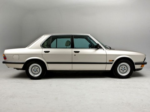 Technical specifications and characteristics for【BMW 5er (E28)】