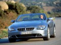 Technical specifications and characteristics for【BMW 6er Convertible (E64)】