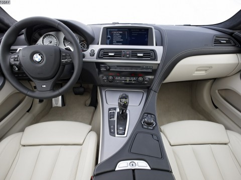 Technical specifications and characteristics for【BMW 6er coupe (F12)】