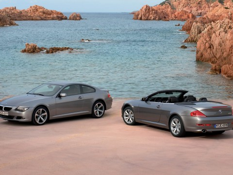 Technical specifications and characteristics for【BMW 6er (E63)】