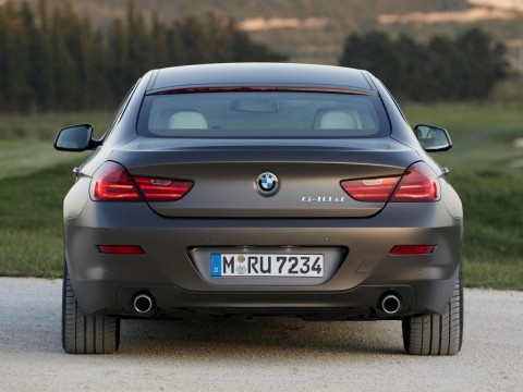 Technical specifications and characteristics for【BMW 6er Gran Coupe (F12)】
