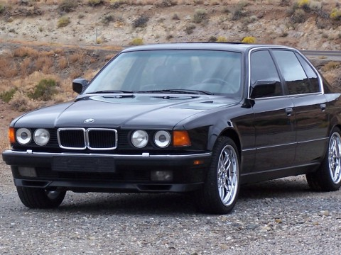 Technical specifications and characteristics for【BMW 7er (E32)】