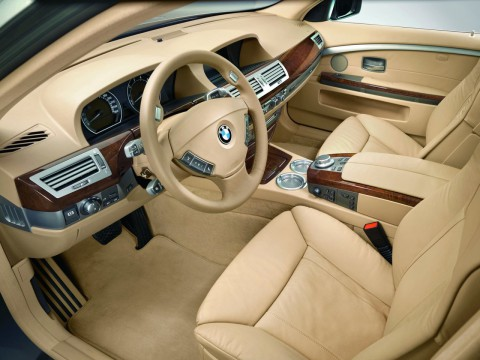 Technical specifications and characteristics for【BMW 7er (E65/E66 L)】