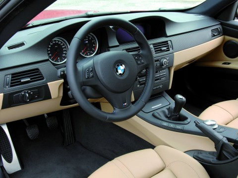 Technical specifications and characteristics for【BMW M3 Coupe (E92)】