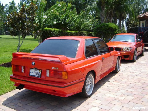 Technische Daten und Spezifikationen für BMW M3 (E30)