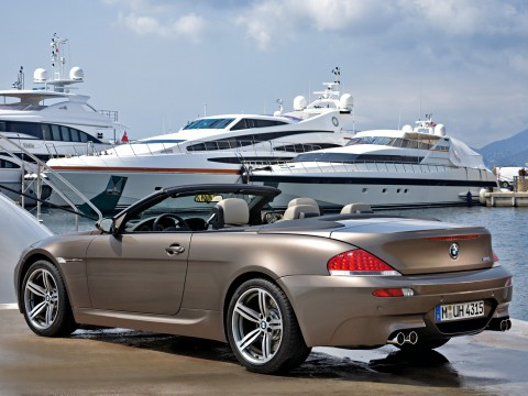 Technical specifications and characteristics for【BMW M6 Cabrio (E63)】