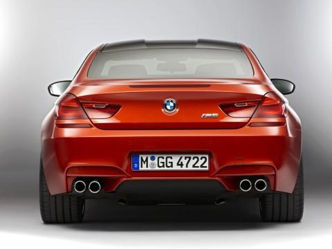 Especificaciones técnicas de BMW M6 Coupe (F12)