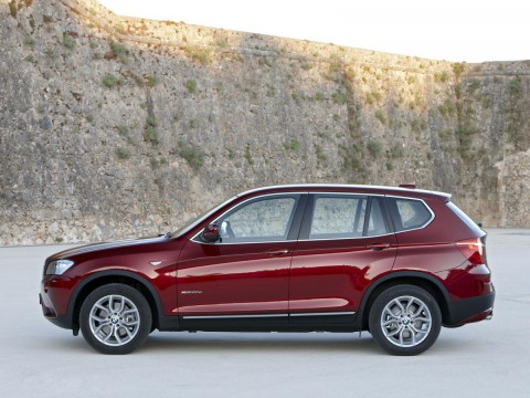 Technical specifications and characteristics for【BMW X3 (F25)】