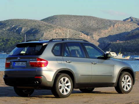 Technical specifications and characteristics for【BMW X5 (E70)】