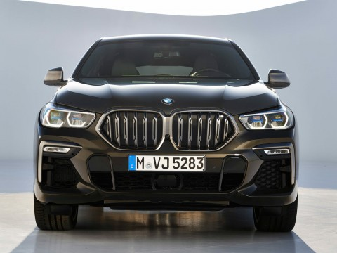 Technical specifications and characteristics for【BMW X6 III (G06)】