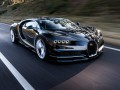 Technical specifications of the car and fuel economy of Bugatti Chiron