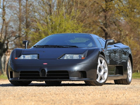 Technical specifications and characteristics for【Bugatti EB 110】