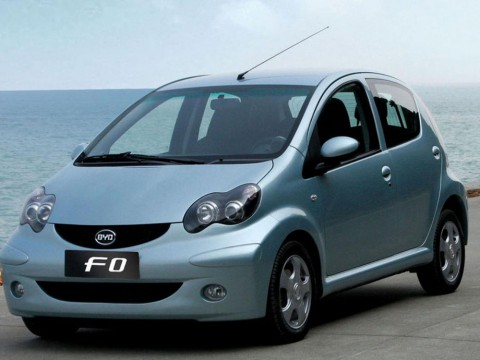 Technical specifications and characteristics for【BYD F0】