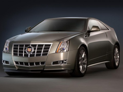 Technical specifications and characteristics for【Cadillac CTS Coupe】