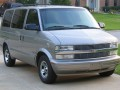 Technical specifications of the car and fuel economy of Chevrolet Astro