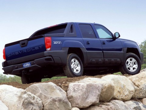 Technical specifications and characteristics for【Chevrolet Avalanche】