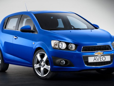 Technical specifications and characteristics for【Chevrolet Aveo II Hatchback】