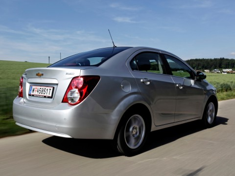 Technical specifications and characteristics for【Chevrolet Aveo II Sedan】