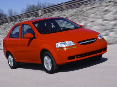 Technical specifications and characteristics for【Chevrolet Aveo Sedan】