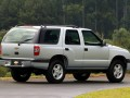 Technical specifications and characteristics for【Chevrolet Blazer II】