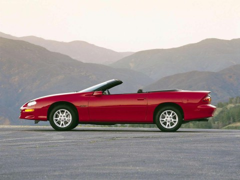 Technical specifications and characteristics for【Chevrolet Camaro Convertible IV】