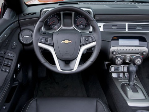 Technical specifications and characteristics for【Chevrolet Camaro Convertible V】