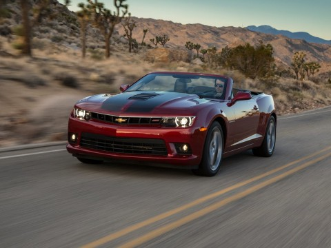Technical specifications and characteristics for【Chevrolet Camaro V Restyling Convertible】