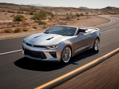 Technical specifications and characteristics for【Chevrolet Camaro VI Convertible】