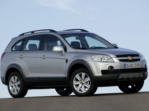 Technical specifications and characteristics for【Chevrolet Captiva】