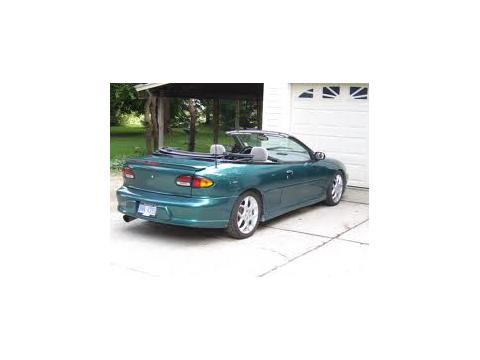 Technical specifications and characteristics for【Chevrolet Cavalier Convertible III (J)】