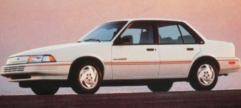 Technical specifications and characteristics for【Chevrolet Cavalier II】