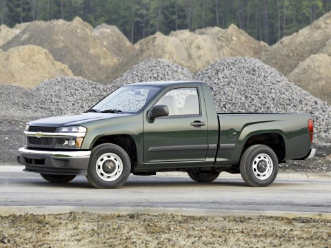 Technical specifications and characteristics for【Chevrolet Colorado】