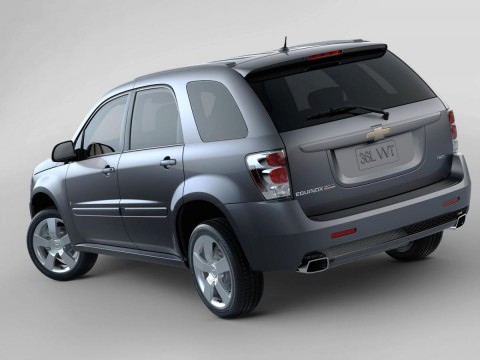 Technical specifications and characteristics for【Chevrolet Equinox】